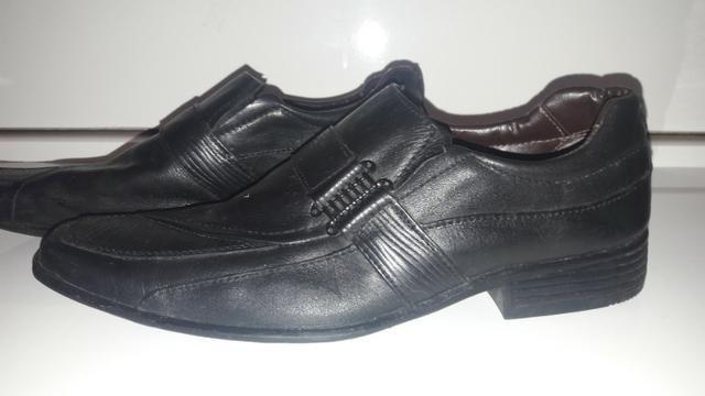 db131d7610 Sapato social masculino juvenil tamanho 37 - Roupas e calçados ...