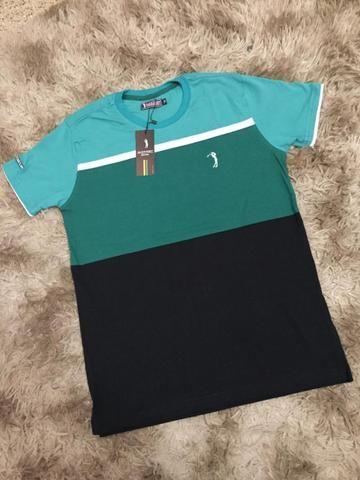 Camisetas Listradas Algodão Report com Elastano - Foto 3