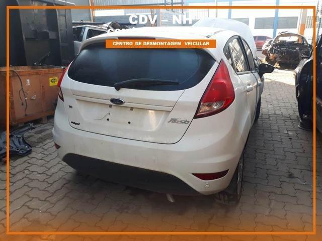 Sucata Ford Fiesta 2017 1.6 128cv Flex - Foto 2