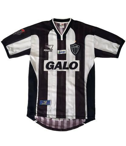 7ad2361e85 Camisa Atlético-MG - Brasil 500 ANOS - 2000 GALO - RELÍQUIA - Roupas ...