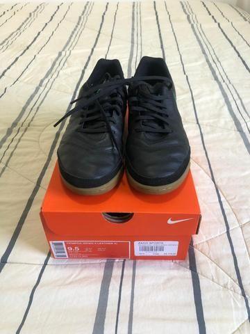 Chuteira Nike futsal Tiempox Genio II n40