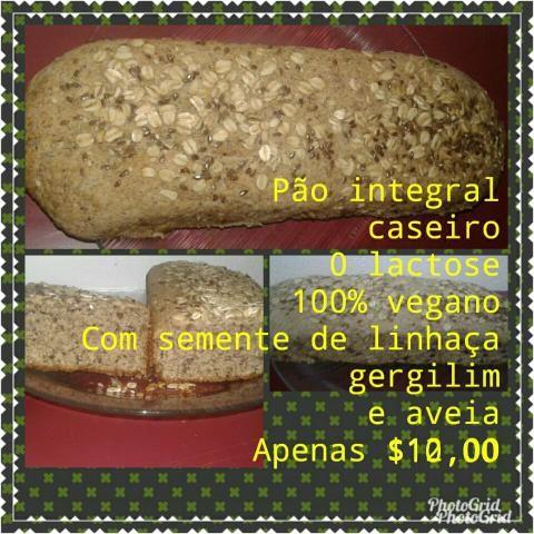 Vendo pão integral e pão caseiro