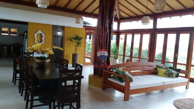 Re/max aluga para temporada casa térreo localizado no distrito de vale verde. - Foto 15