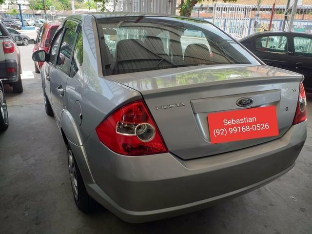 Fiesta Sedan 1.6 2010 - ENTRADA ZERO Completo - 2009 - Foto 2