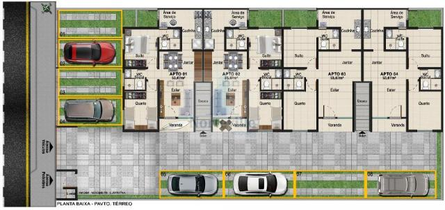 Apartamento à venda com 2 dormitórios em Jardim atlântico, Olinda cod:N04-01 - Foto 4