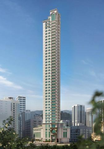 Apartamento Alto Padrão com Vista para o Mar - 04 Suítes - Sacada com Churrasqueira - Foto 8