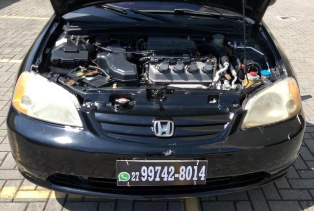 Honda Civic LX 1.7 Completo 2001/2001 R$11.800,00 Parcelo no Cartão de Credito - Foto 11