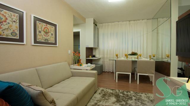 SAM - 108 - Vista do Horizonte - 2 quartos 50m² - Entrada facilitada - Serra - Foto 2