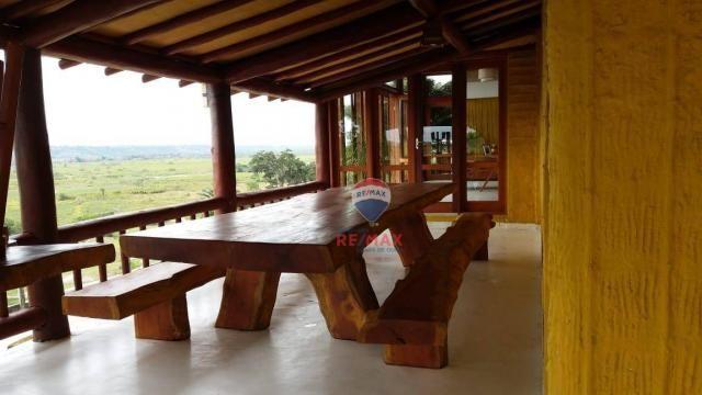 Re/max aluga para temporada casa térreo localizado no distrito de vale verde. - Foto 8