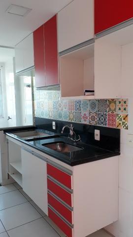 Excelente apt 2 qts com suite, closet e vg em Campo Grande - Foto 5