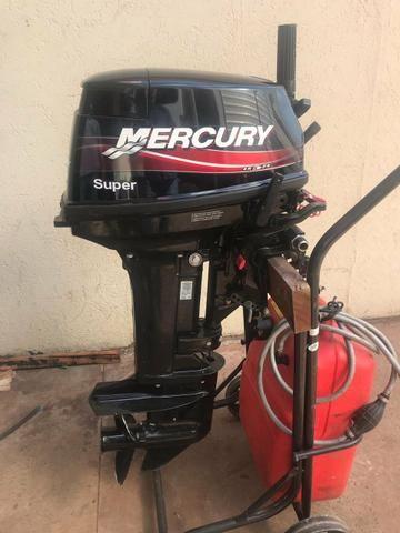 Mercury 15hp super 2017