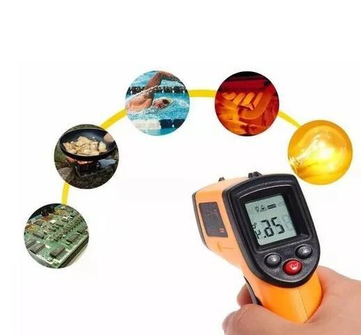 (NOVO) Termômetro Digital Infravermelho B-max -50°c +420°c - Foto 6