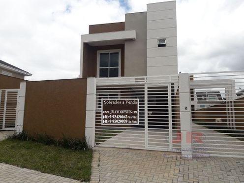 Casa à venda com 3 dormitórios em Atuba, Curitiba cod:SB208