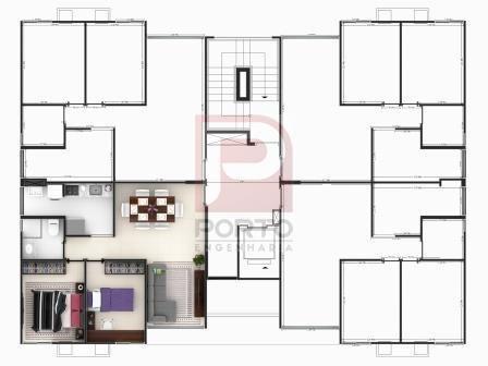 Apartamento à venda com 2 dormitórios cod:64791 - Foto 8