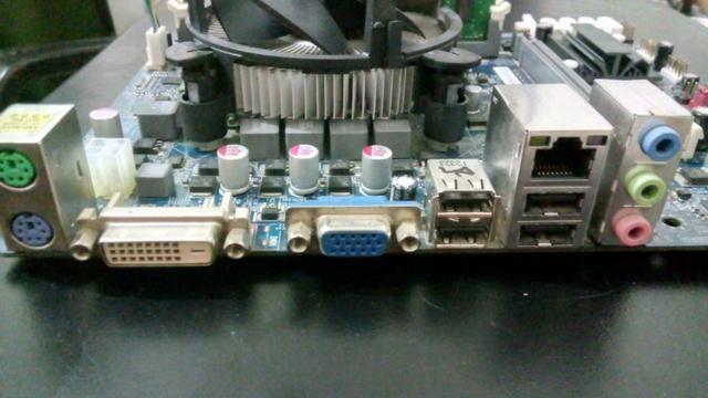 Kit upgrade CORE i3- placa-mae gigabyte +i3 3.3ghz + cooler + 4gb ddr3 - novissimo!! - Foto 2