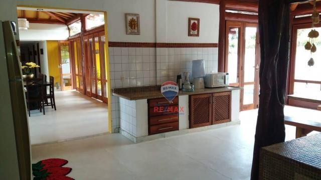 Re/max aluga para temporada casa térreo localizado no distrito de vale verde. - Foto 12