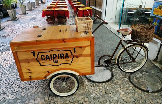 Triciclo retrô lindo! Ótimo para feiras e eventos - Foto 2