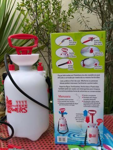 Pulverizador Flowers 5 litros -Com ele o jardim da sua casa nunca mais será o mesmo - Foto 3