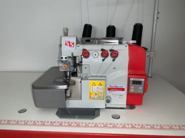 Máquina Costura Overlock Direct Drive com Mesa Bivolt SS9903D-E-G Sun Special - Foto 2