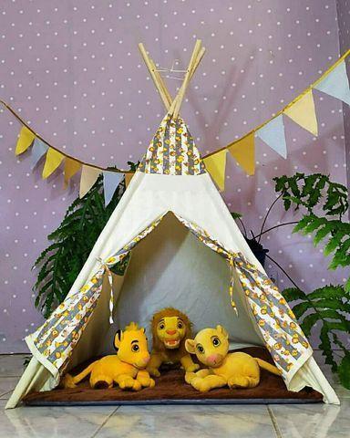 Cabana Infantil Barraca Tenda Com Colchonete - Foto 3