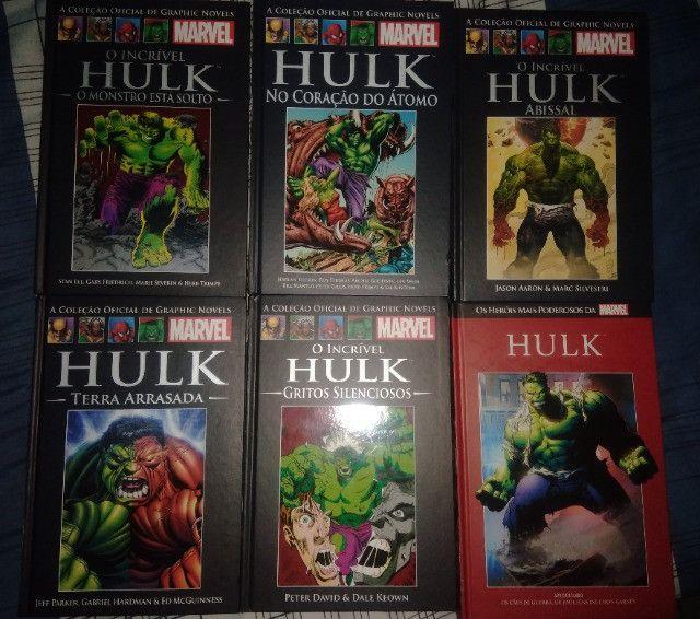 Coleção Graphic Novels O incrível Hulk