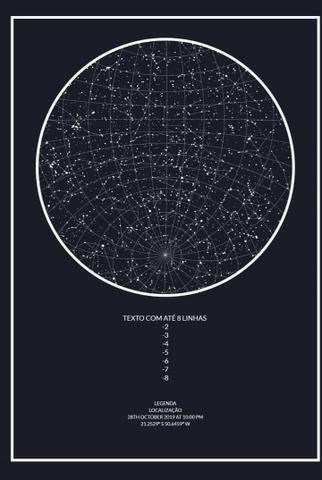 Mapa do céu - Foto 2
