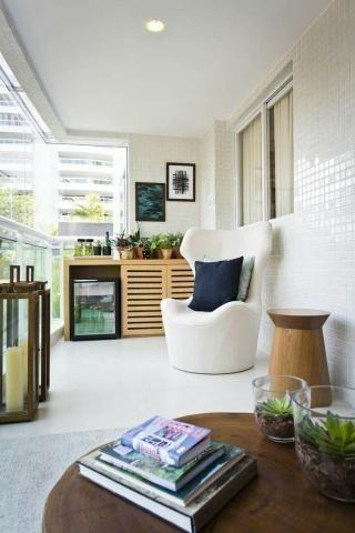 In Side Península | Apartamento na Barra de 3 quartos com suíte | Real Imóveis RJ - Foto 7