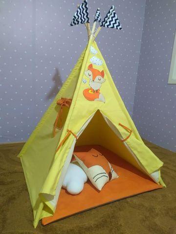 Cabana Infantil Barraca Tenda Com Colchonete
