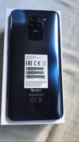 Redmi note 9 midnight Grey 3GB RAM 64GB ROM já estã com película *  - Foto 3