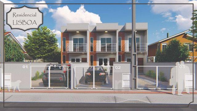 Casa Geminada com passagem lateral na Limeira, Brusque-SC - Foto 2
