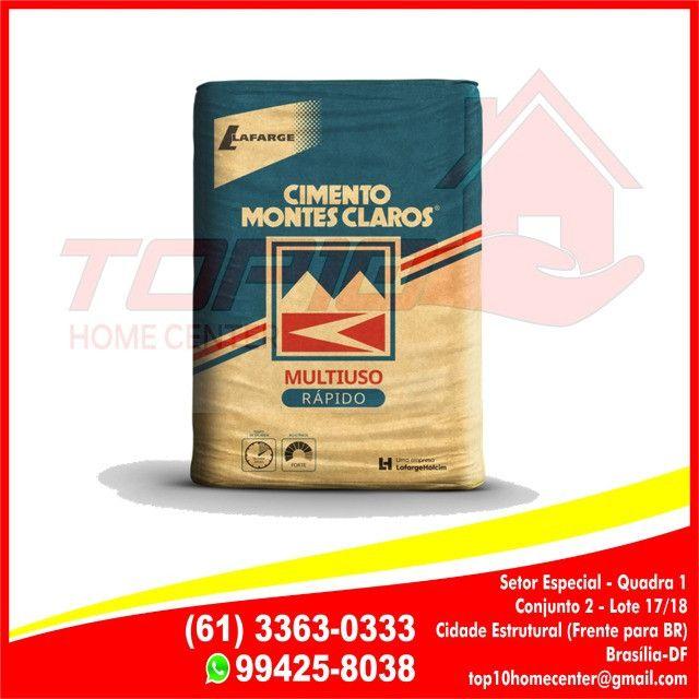 Cimento CPII 50kg - Montes Claros 26,99 A Vista
