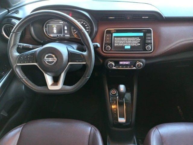Nissan Kicks 1.6 SL  Automático CVT 2018 com interior marrom Extra! - Foto 10