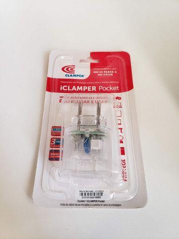 Protetor Clamper Pocket 2 Pinos Dps Raio E Surtos 10a - Foto 2