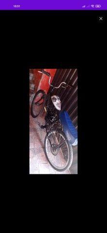 Bicicleta motorizada 80cc muito forte  - Foto 2