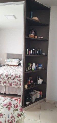 apartamento de 3 qts com escaninho, armários, porcelanato, condomínio reserva da amazônia - Foto 3