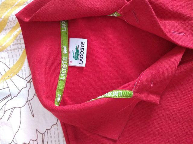 Vendo camisa original Lacoste