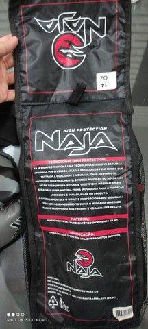 Luvas de box profissional Naja kit completo faixas e protetor bocal NOVO - Foto 3