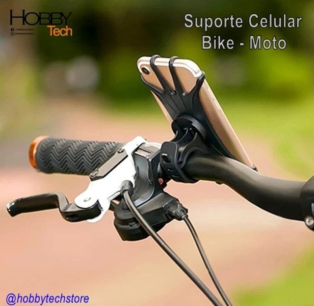 Suporte para Celular de Silicone Bike Moto