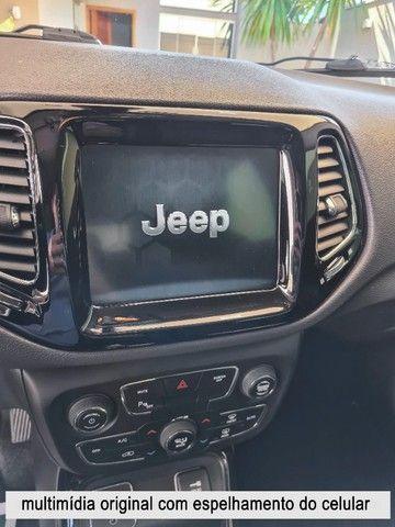 Jeep Compass 2018 Limited Branco Polar (perolizado) revisões na concessionária - Foto 13