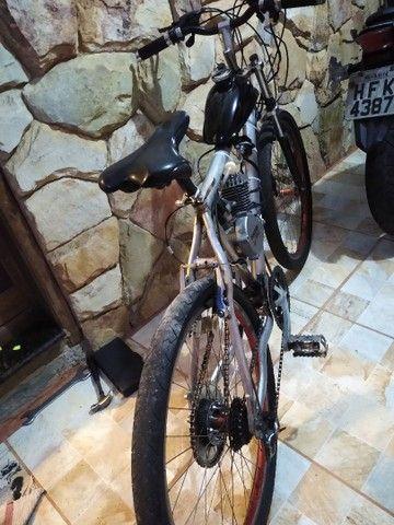 Bicicleta motorizada 80cc nova - Foto 3