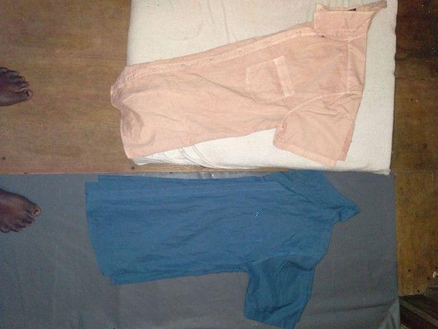 Lote de camisa de manga curta 25,00 - Foto 4