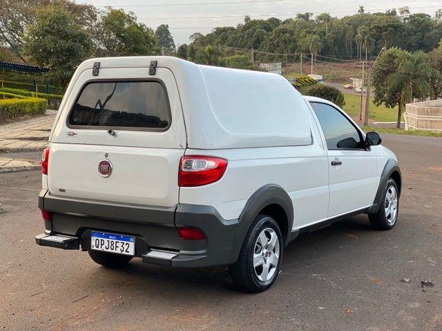 Fiat Strada Working Hard 1.4 flex - 2019 - Completa  - Foto 4