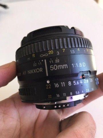 Nikon D7200 com lente Nikkor 50mm - Apenas 26k clicks.  - Foto 3