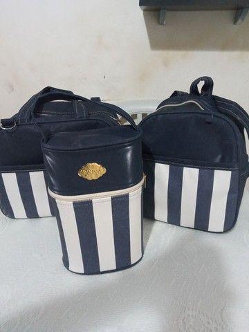 Vendo kit bolsas,kit berço vendo os dois por 250 - Foto 4