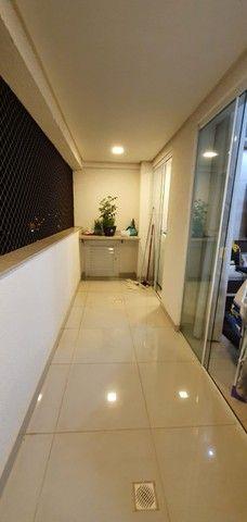 apartamento de 3 qts com escaninho, armários, porcelanato, condomínio reserva da amazônia - Foto 5