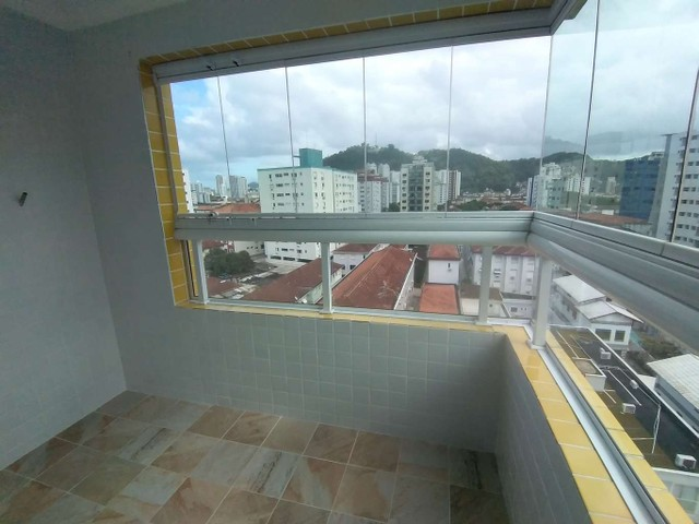 Apartamento à venda com 2 dormitórios em Campo grande, Santos cod:212608 - Foto 10