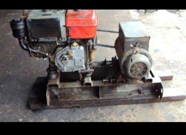 Gerador diesel 6kva