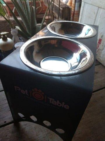 Comedouro/mesa de alimentação/pote de comida ração  - Foto 2