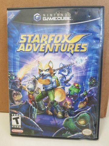 Starfox Adventures para Gamecube