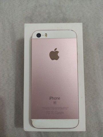iPhone SE Ouro Rosa 32 GB - Foto 3